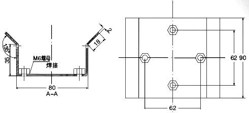 井下信号铃的接线图